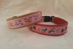 Webband-Crazy-Dogs-pink-Weihnachten-rosa